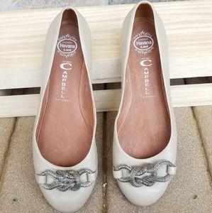 Jeffrey Campbell 8 Dolores Knot Flats Shoes